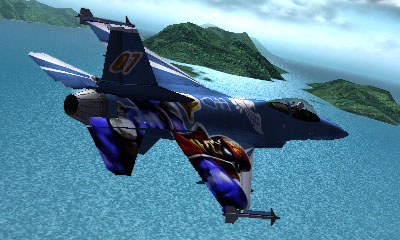 Ace Combat Assault Horizon Legacy+ / F16C Aircraft  - Captain Falco