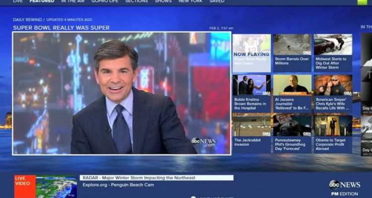 ABC News app on Xbox One