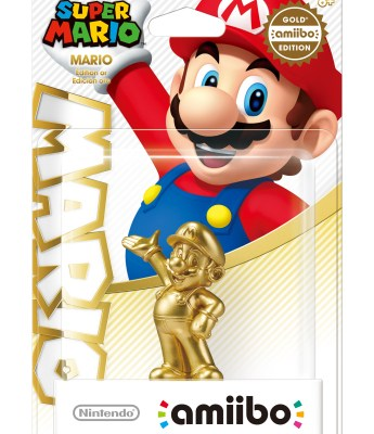 Super Mario amiibo - Gold Edition