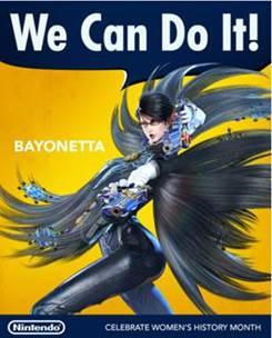 Nintendo / Bayonetta / Women's History Month