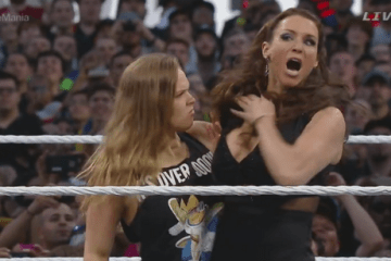 Ronda Rousey confronts Stephanie McMahon