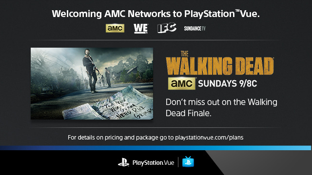 AMC Networks - PlayStation Vue
