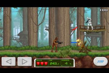 Mini juego a la Contra disponible para Star Wars: Force Collection