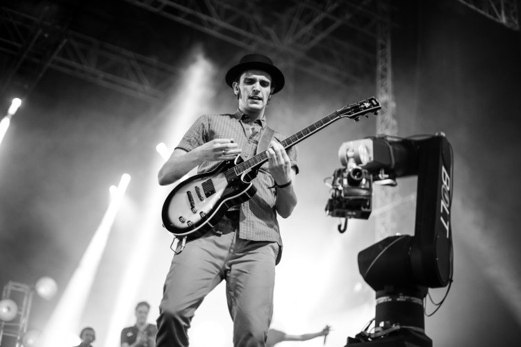 Guitar Hero Live: Detrás de las escenas. Foto: www.joebrady.co.uk