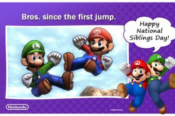 Nintendo celebra el Día Nacional de los Hermanos con un sorteo Smash