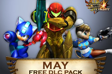 Capcom lanza paquete DLC de mayo gratis para Monster Hunter 4 Ultimate