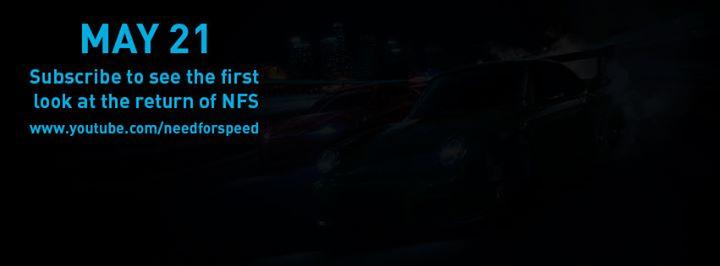 EA revelará un nuevo juego de Need for Speed el 21 de mayo
