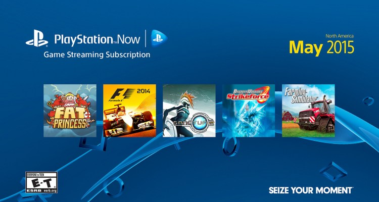 PlayStation Now Subscriptions arrive on May 13th to PS3
