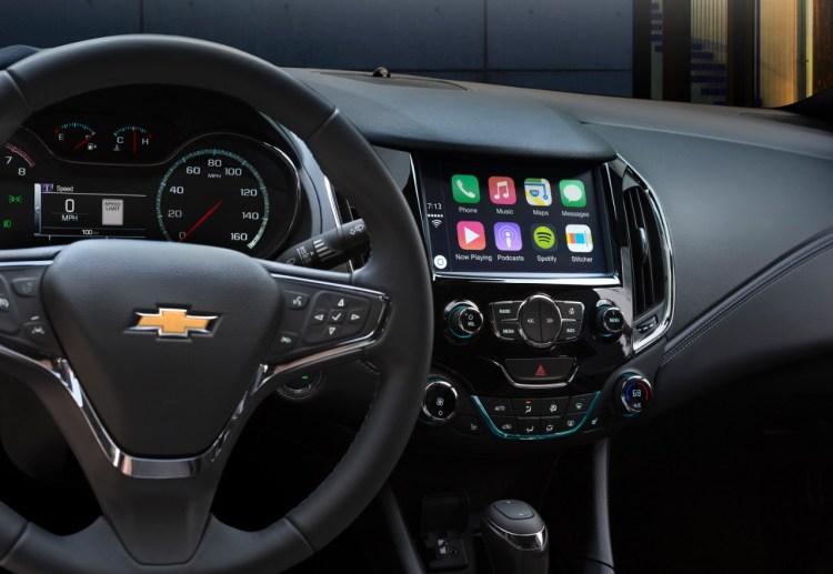 El Chevrolet Cruze 2016 con Apple CarPlay