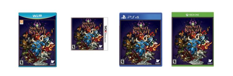 Physical copies of Shovel Knight are coming to stores in October