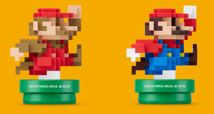 Nintendo announces 8-bit amiibo is coming to Europe on Sept. 11