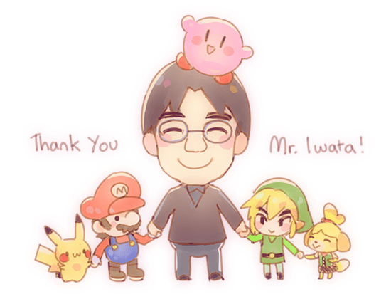 Thank You, Mr. Iwata