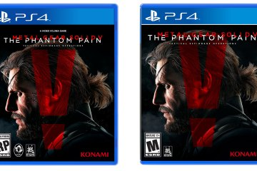 Konami removes Kojima's name from box art of MGSV: The Phantom Pain