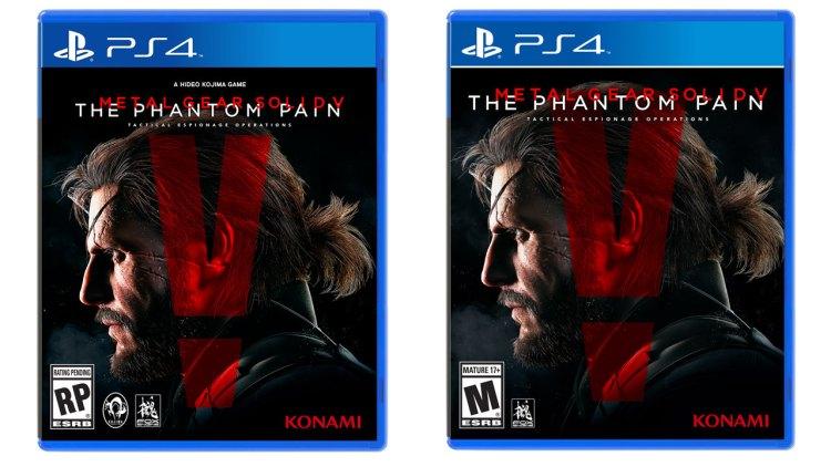 Konami removes Kojima's name from box art of MGSV: The Phantom Pain