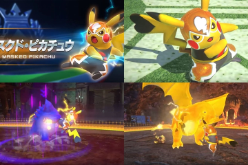 Bandai Namco shows Pikachu Libre's talent in the ring - Pikachu Libre aka Masked Pikachu