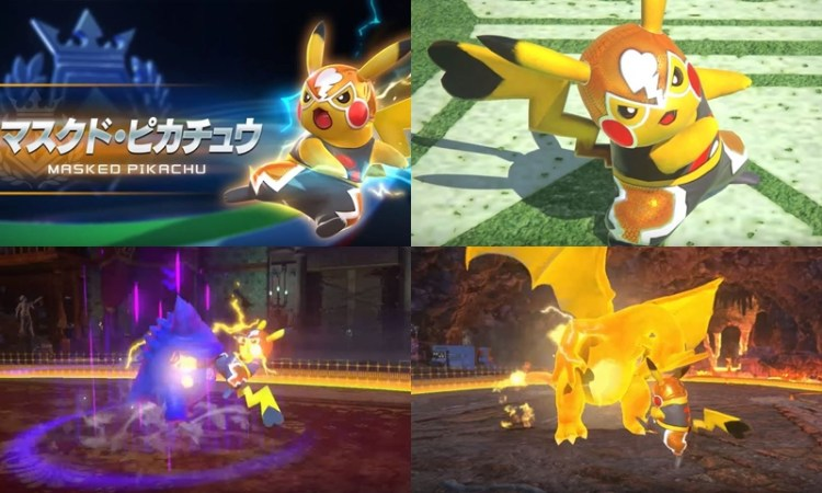 Bandai Namco shows Pikachu Libre's talent in the ring - Pikachu Libre aka Masked Pikachu