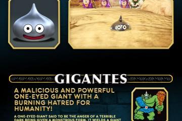 Square Enix nos presenta a los limos y gigantes de Dragon Quest Heroes del ayer y hoy