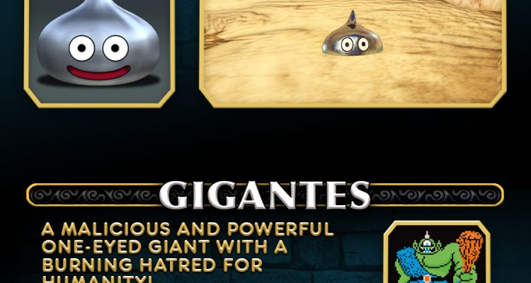 Square Enix shows us the slimes and giants of Dragon Quest Heroes, then and now
