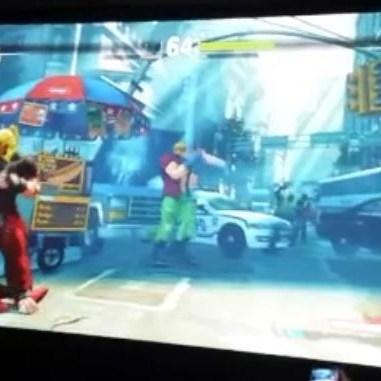 Ono muestra a Alex en SFV aunque no como los gamers hubieran querido