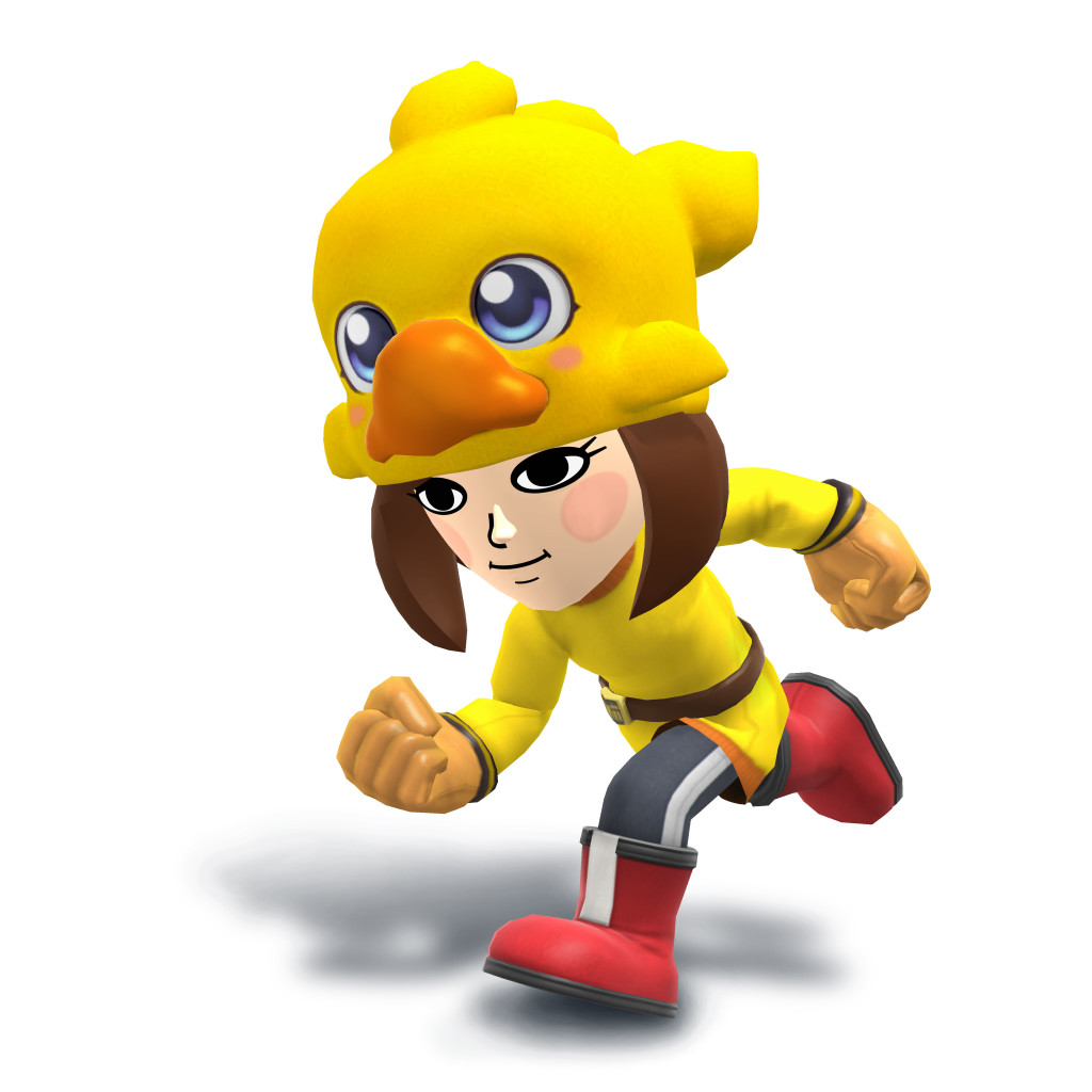 Chocobo Hat (Mii Fighter Costume / December 2015)