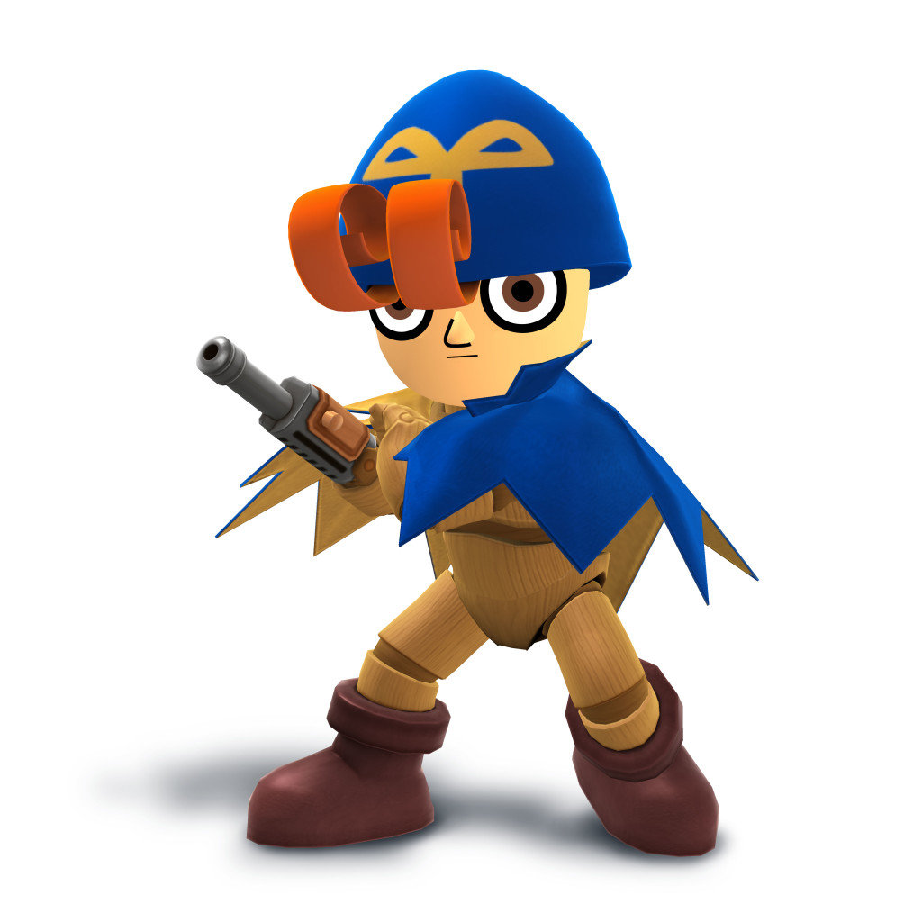 Geno (Mii Fighter Costume / December 2015)