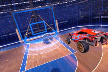 Rocket League Hoops mode is coming on April 26