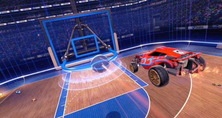 El modo Hoops para Rocket League llega el 26 de abril