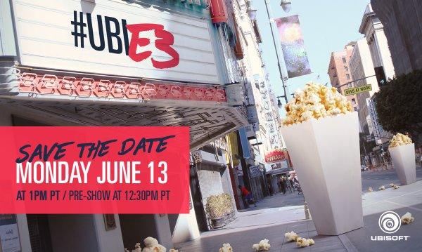 Ubisoft anuncia su conferencia de prensa de E3 2016
