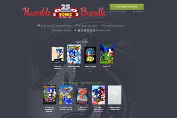 Sega ofrece una colección de juegos de Sonic a $10