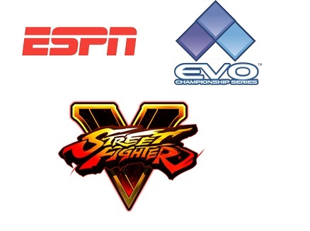 ESPN2 will televise the Street Fighter V World Championship at EVO on July 17