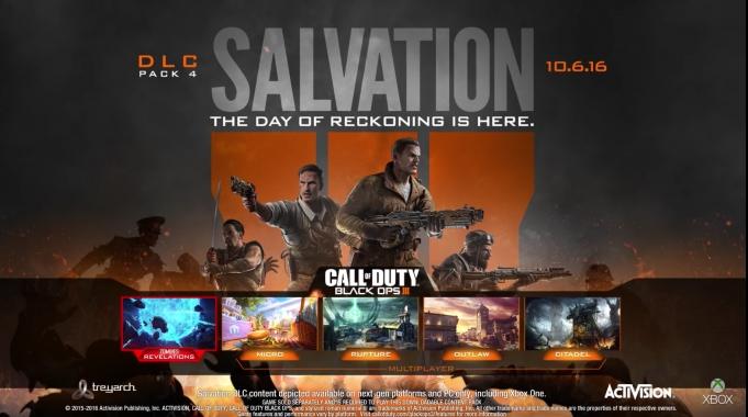 Call of Duty: Black Ops 3 - Salvation DLC