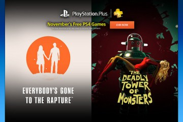 Six games coming to PS Plus subscribers this November