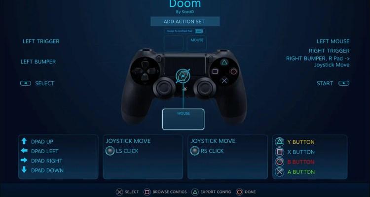PS4 Controller + Steam API
