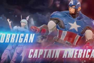 Captain America and Morrigan join the battle on Marvel vs. Capcom Infinite