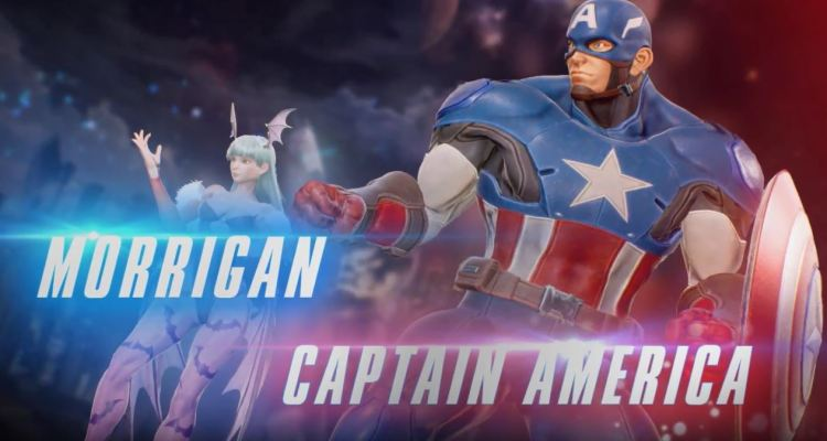 Captain America and Morrigan join the battle on Marvel vs. Capcom Infinite
