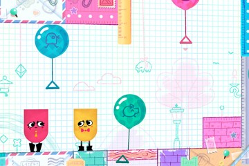 Snipperclips will be a Nintendo Switch launch title