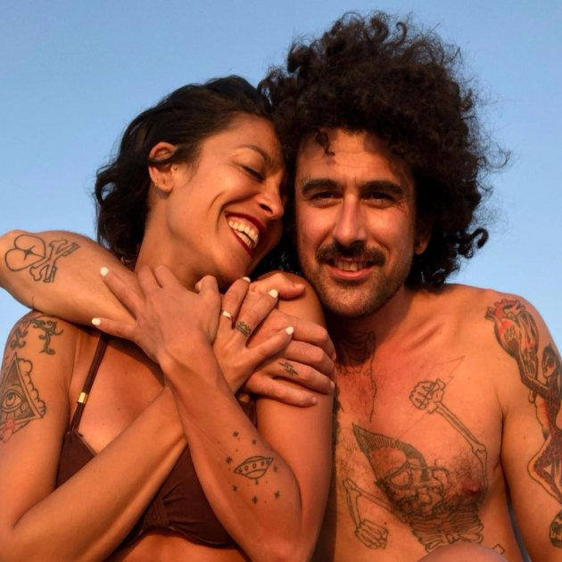 Lorena Castell Eduardo Daban parella @lorenacastell