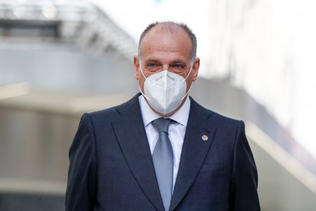 Javier Tebas mascareta EuropaPress