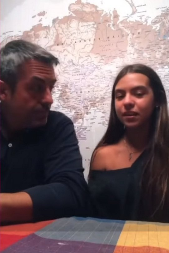 Ramon Pellicer i filla Martina video TIK TOK ICAT