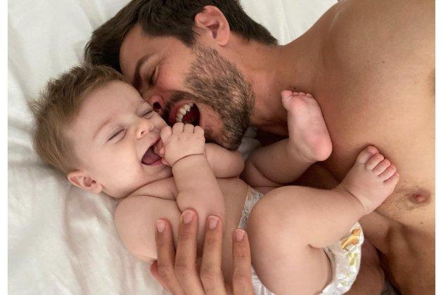 marc clotet su hijo neo Instagram