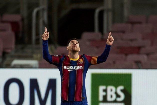Leo Messi FC Barcelona gol celebracion EFE