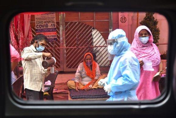 india coronavirus hospitales efe