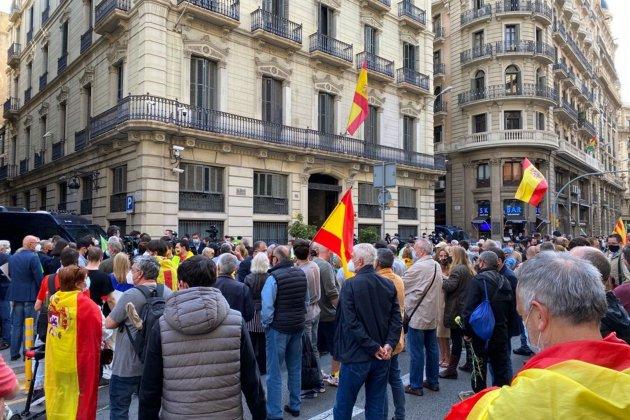 manifestación jefatura de policía / Pepa Masó