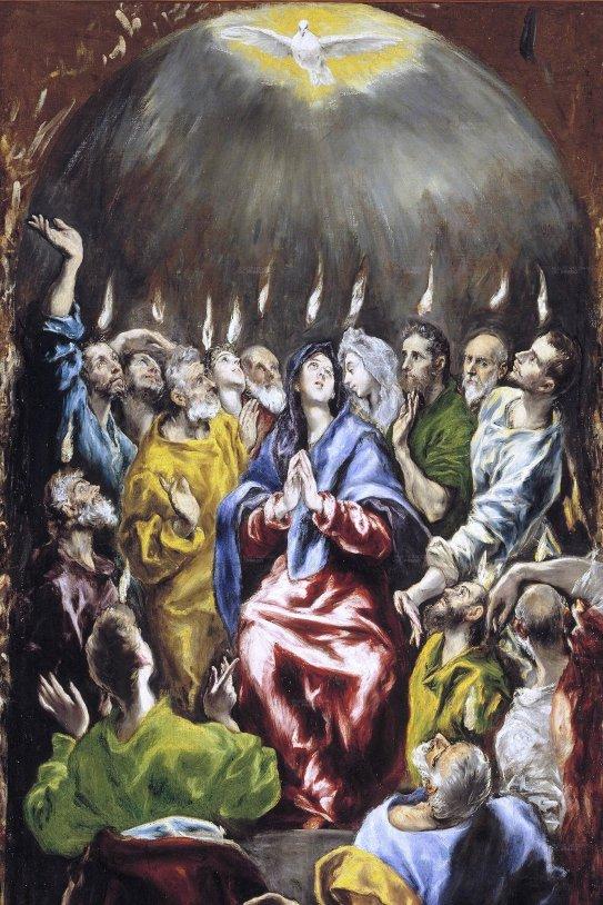 Pentecostés (El Greco, 1597)