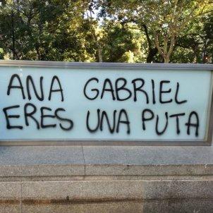 Image result for amenazas a anna gabriel