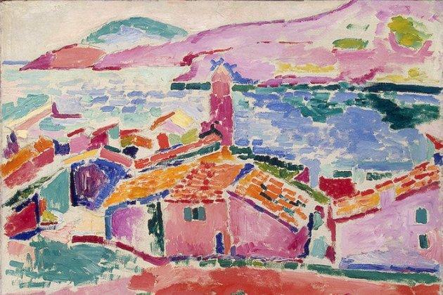 Matisse View of Collioure (1905)