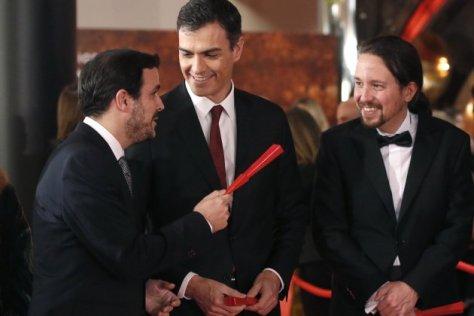 Sanchez Iglesias Garzon premis Goya - EFE