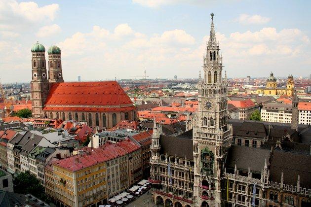 München Panorama Wikimedia