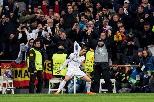 Cristiano Ronaldo PSG Madrid gol EFE