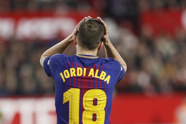 Jordi Alba Barça Sevilla EFE